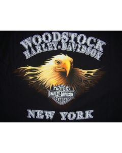 Tour-T-シャツ Used 古着 HARLEY-DEVIDSON WOOD STOCK Tour-T-シャツ L